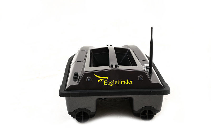 Eagle Finder ABS Black Remote Control RC Upgraded Fishing Baitboat Basic Model Compass