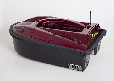 Κόκκινη δίδυμη βάρκα δολώματος ανιχνευτών ψαριών τηλεχειρισμού προωστήρων με το ευδιάκριτο σύστημα συναγερμών ryh-001C